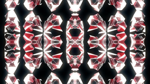 Polygonal strobe colorful Motion background pattern vj loop ライブ動画