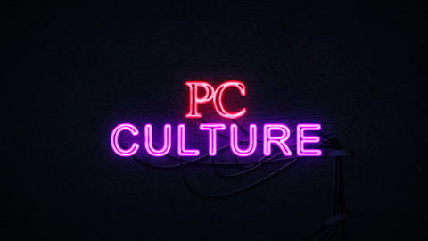 PC Culture Neon Sign GIF