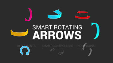 Smart Rotating Arrows Pack After Effects Template