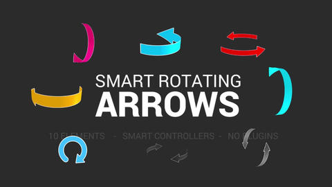 Smart Rotating Arrows Pack After Effectsテンプレート