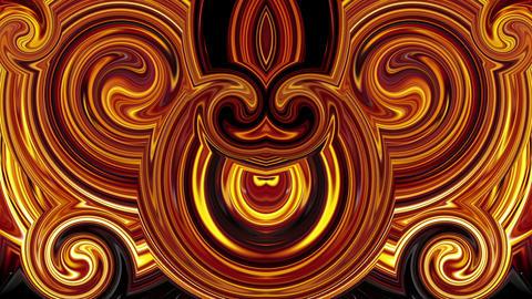 Hell lava fire pattern art 3d animation motion background vj loop Footage
