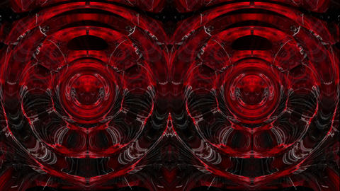 Red Rays Sphere ring eyes Art 3d Abstraction motion background VJ Loop ライブ動画