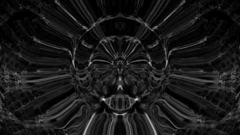 Black motion lines ring explosion Art 3d Abstraction VJ Looped video Footage