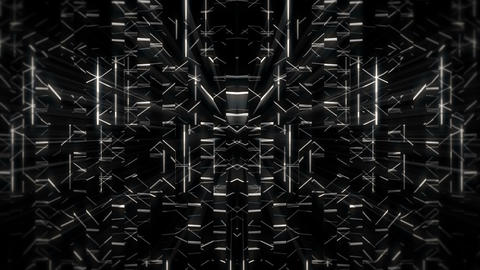 Monochrome motion background art lines visual vj loop Live Action