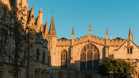 Magdalen College, Oxford, England, UK Live Action