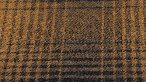 The texture of the cotton fabric in squares. The structure of the fabric Footage