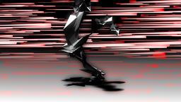 Abstract Runner Leg Detail Loop 영상물