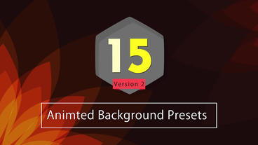 15 Animted Background V2 After Effects Animation Preset