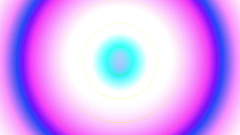 Psychedelic Colorful Pulse Burst Circle Radio Abstract VJ Motion Background 1 Animation
