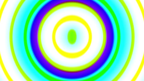 Psychedelic Colorful Pulse Burst Circle Radio Abstract VJ Motion Background 2 Animation