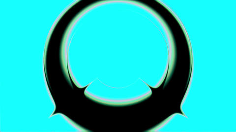 Psychedelic Blue Pulse Burst Circle Radio Abstract VJ Motion Background 1 Animation