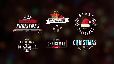 Chtristmas Titles Pack After Effects Template
