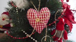 Decorative heart - Christmas decoration on the Christmas…, Live Action