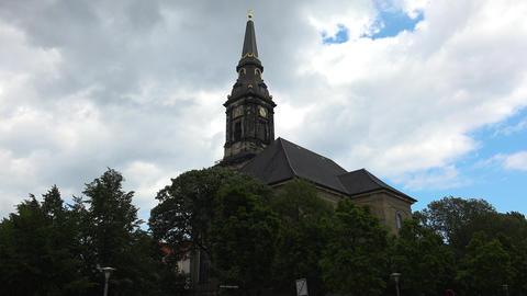 Christians Kirke. Copenhagen. Denmark. Shot in 4K (ultra-high definition (UHD)) Live Action