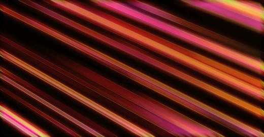 Orange And Red Diagonal Light Illuminated Lines Animation