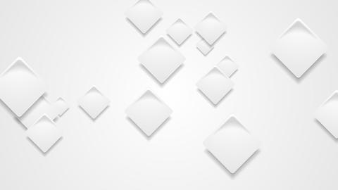 Abstract grey paper squares video animation Animation