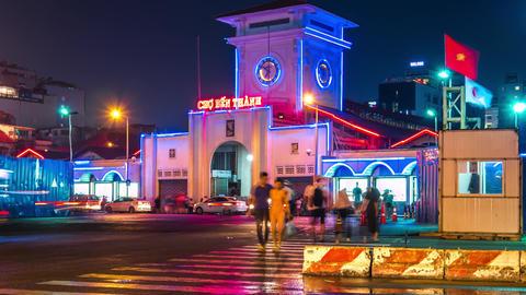 Ben Thanh Market Time Lapse GIF
