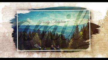 Vintage Memories Slideshow Plantilla de After Effects