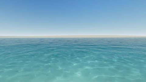 Ttropical beach clear blue sea Live Action