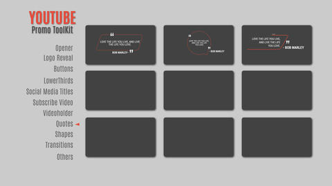 YoutubePromoToolKit After Effects Template