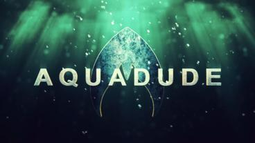 AquaDude Title Reveal After Effects Template