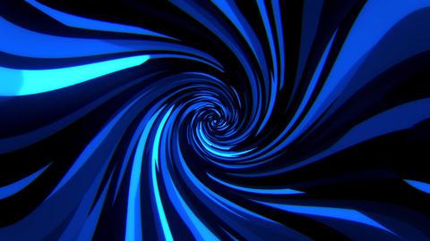 Blue Digital Squares with Vortex Distortion VJ Loop Background Animation