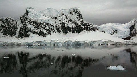 Mountain view in Antarctica Live Action