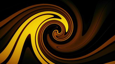 Gold Digital Neon Waves VJ Loop Motion Background Animation