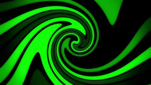 Green Digital Neon Waves VJ Loop Motion Background Animation