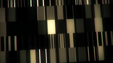 White Digital Neon Lines & Squares VJ Loop Motion Background Animation