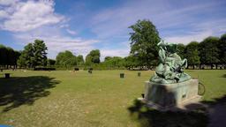 Recreation Park in Copenhagen. Denmark. 4K Live Action