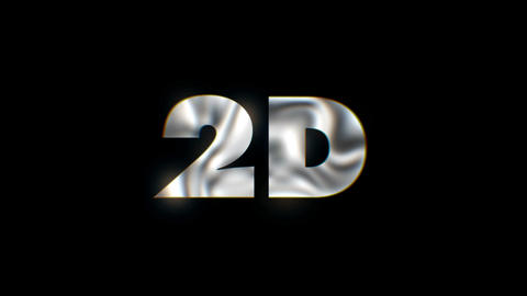 2D - word animated text motion typographics slogan typeface vj loop Live Action
