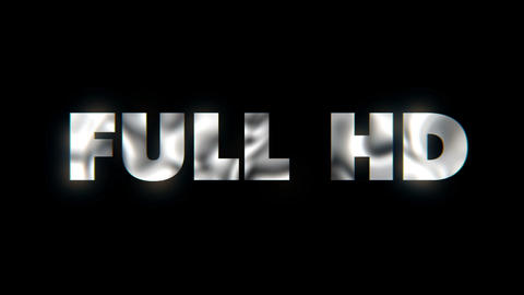 Full hd - text animation motion typographics art visual vj clip Live Action