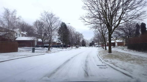 Suburb Winter Driving 01 0