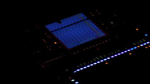 Mixer Console / Sound Producer / Sound Man Live Action