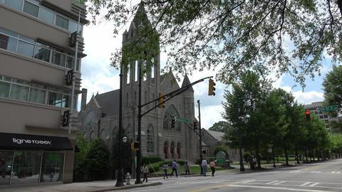 Saint Mark United Methodist Church in Atlanta - ATLANTA / GEORGIA - APRIL 22, 20 Live Action