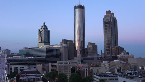 Atlanta Downtown Hotels with Westin Sundial restaurant - ATLANTA / GEORGIA - APR Live Action