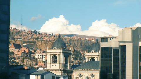 La Paz Skyline, in Bolivia ビデオ