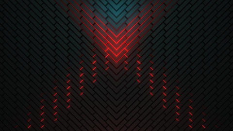 VJ 3D Dark Pattern Animation