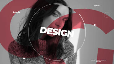Stylish opener Plantilla de After Effects