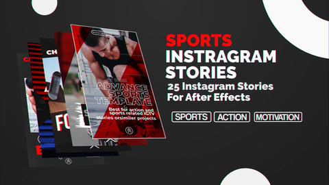 Sports Instagram Stories After Effects Template