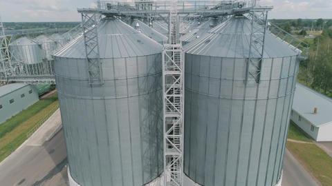 grain storage Elevator Archivo