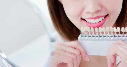 Teeth whiten concept Live Action