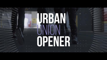 Urban Union Opener After Effects Template