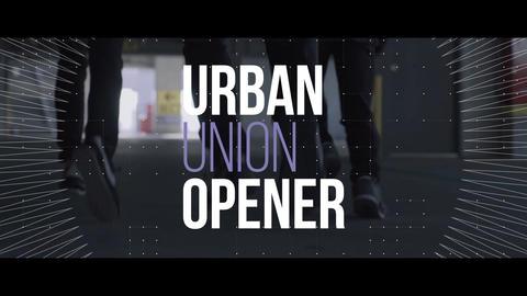 Urban Union Opener Plantilla de After Effects