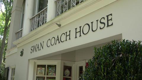 Famous Swan Coach House museum and restaurant in Atlanta - ATLANTA / GEORGIA - A Live Action