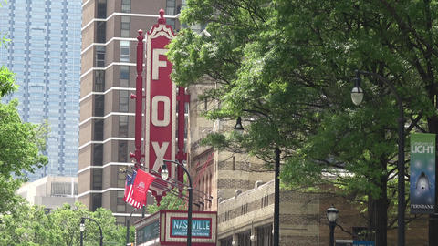 The FOX Theater in Atlanta midtown - ATLANTA / GEORGIA - APRIL 22, 2016 Live Action