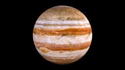 The solar system-Jupiter Animation