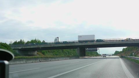 Autobahn near Karlsruhe Live Action
