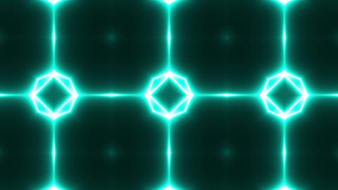 Neon Psychedelic Kaleidoscope Footage
